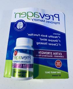 Prevagen EXTRA Strength Supplement 20mg 30 Chewable Tablets