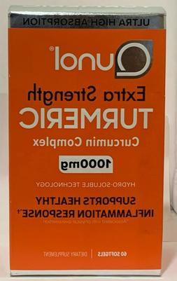 QUNOL EXTRA STRENGTH TURMERIC CURCUMIN COMPLEX ,1000 MG , 60