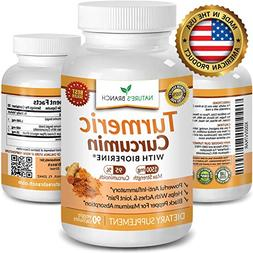 100% Pure Extra Strength All Natural Turmeric Curcumin with