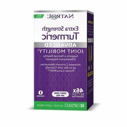 Natrol Extra Strength Turmeric Extract w/ CurcuWIN, 60 Capsu