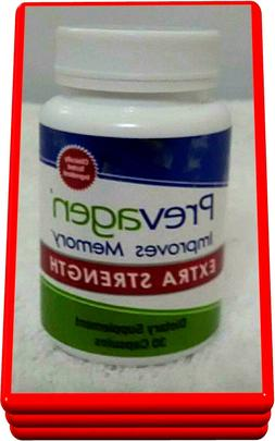 PREVAGEN EXTRA STRENGTH - IMPROVES MEMORY - 30 CAPSULES