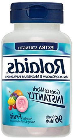 Rolaids Ex Stngth Tabs Fr Size 96ct Rolaids Extra Strength T