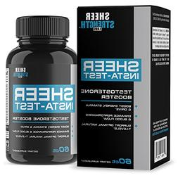 Extra Strength Testosterone Booster for Men - Promotes Fat L