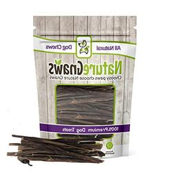 "Nature Gnaws Extra Thin Pork Bully Sticks 5-6""  - 100% All-N"