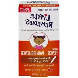 Little Remedies Fever/Pain Reliever SyringeNatural Grape - 2