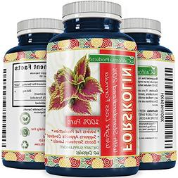 California Product's Pure Forskolin Extract for Weight Loss