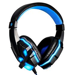 Gaming Headset Noise Cancelling Over Ear Headphones with Mic