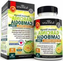 Garcinia Cambogia 95% HCA Pure Extract with Chromium. Fast A