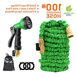 Garden Hose 100 ft Garden hose with Triple Layer Latex Core