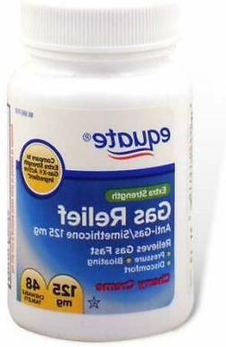 Equate -Gas Relief, Extra Strength, Simethicone 125 mg, 48 C