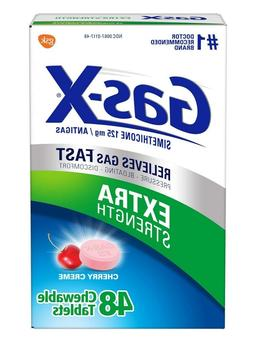 Gas-X Extra Strength Gas Relief Chewable Tablets Cherry Crem