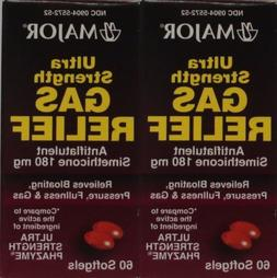 Generic for Phazyme Ultra Strength Simethicone 180mg Softgel