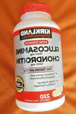Kirkland Signature Glucosamine & Chondroitin, 220 Tablets *F