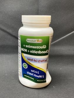 Best Naturals Glucosamine Chondroitin MSM 180 Capsules