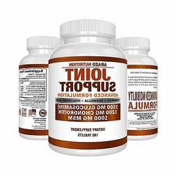 Glucosamine Chondroitin Turmeric MSM Boswellia - Joint Suppo