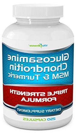 Webber Naturals Glucosamine & Chondroitin, Extra Strength Jo