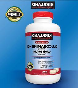 Kirkland Signature Glucosamine Extra Strength HCI 1500mg wit