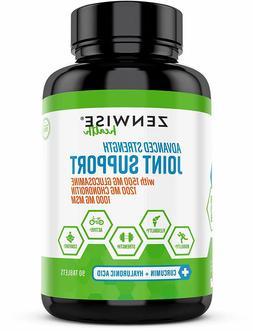 Glucosamine Sulfate Chondroitin MSM Curcumin, Extra Strength
