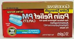 GoodSense Acetaminophen Pain Reliever/Fever Reducer PM, 50 C