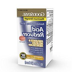 GoodSense Acid Reducer, Ranitidine Tablets,150 mg,50 count
