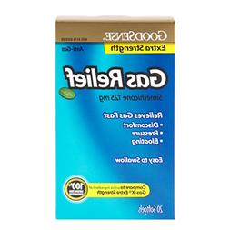 GoodSense Extra Strength Gas Relief Softgels, 20-count