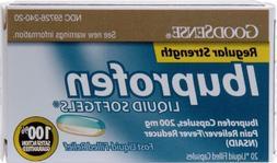 Goodsense Ibuprofen Liquid Softgels