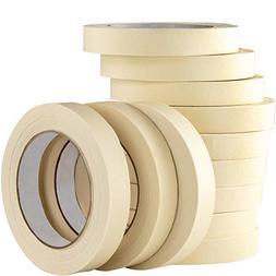 Nova Supply 3/4 in Pro-Grade Masking Tape. 60 Yard Roll 4 Pa