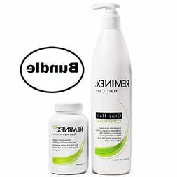 Gray Hair Conditioner + Reminex 60 Color Restore Vitamins Bu