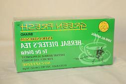 Green Fresh EXTRA Strength Herbal Diet Tea for Weight Loss -