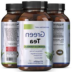 Green Tea Weight Loss Pills with Detox Cleanse, Burn Belly F