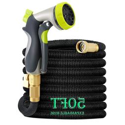LUDA 50Ft Garden Hose, All New Expandable Water Hose Set Wit