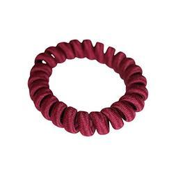 HAIR BRACELET  Fabric Hair Coils 5.5cm - Sleek, Minimalist,