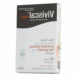 Viviscal Hair Dietary Supplements Man, Grey White, 60 Tablet