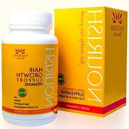Nourish Hair Growth Vitamins – Nutraceutical Grade Hair Lo