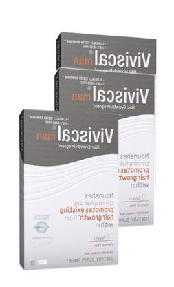 Viviscal Man Hair Nutrient Hair Loss Vitamins For Men 3 mont