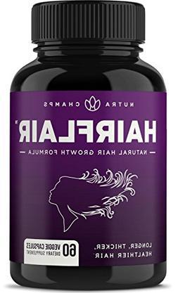 HAIRFLAIR - Hair Growth Vitamins with Biotin for Longer, Str