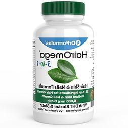 DrFormulas HairOmega 3-in-1 Hair Growth Vitamins with DHT Bl