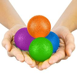 Vive Hand Exercise Balls - Grip Strengthening Physical, Occu