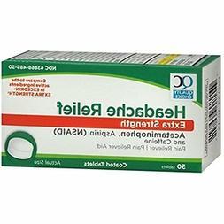Quality Choice Headache Relief Extra Strength 50 Tablets Com
