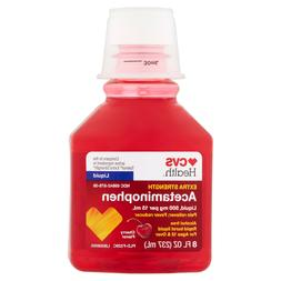 CVS Health Extra Strength Pain Relief Adult Liquid Rapid Bur
