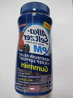 Alka Seltzer PM Heartburn Relief + Sleep Support, Mixed Berr