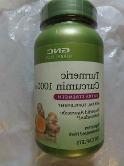 GNC Herbal Plus Turmeric Curcumin 1000 MG Extra Strength