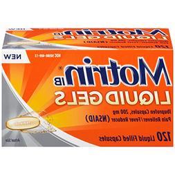 Motrin IB Liquid Gels Ibuprofen Pain Reliever/Fever Reducer