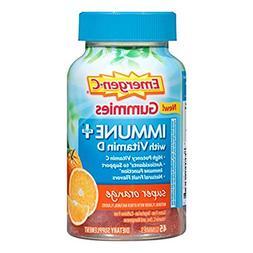 Emergen-C Immune+ Gummies  Immune System Support with 500mg