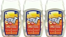 Tums Indegestion Relief Fruit Antacid 75 Tablets x 3 Packs b