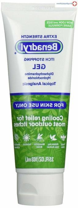 Benadryl Extra Strength Cooling Anti-Itch Gel, Diphenhydrami