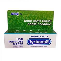 Benadryl Itch Stopping Cream, Extra Strength, 2 pk
