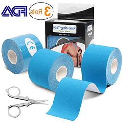 Kinesiology Tape , Athletic Sports Tape Recovery Tape Elasti