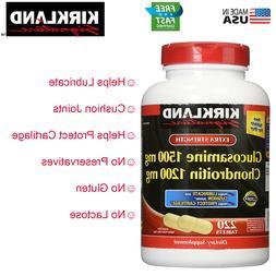 Kirkland Glucosamine 1500 mg Chondroitin Sulfate 1200 mg 220