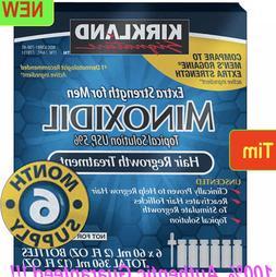 Kirkland Minoxidil 5% Extra Strength Men Hair Regrowth Solut
